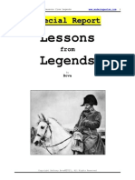 Lessons From Legends