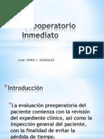 5.PREOPERATORIO INMEDIATO