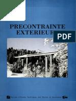 Precontrainte Exterieure - SETRA - 1990