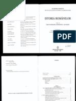 Istoria Românilor  vol 2 (2001)