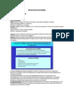Glosario de inmunología