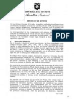 Codigo Orgánico Integral Penal COIP