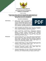 Peraturan Walikota Surabaya 26 2008 Penetapan Tarif AU