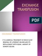 Exchange Transfusion