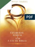 Casamento Div Rcio e Sexo Luz Da B Blia Esequias Soares