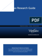 West Law Research Guide