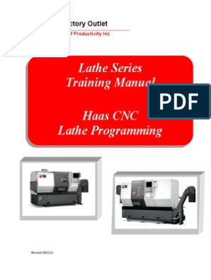 Haas Lathe Programming Manual | Numerical Control ... on