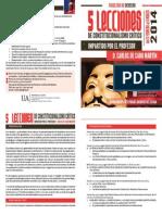Folleto 5 LECCIONES DE CONSTITUCIONALISMO CRÍTICO