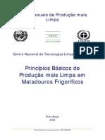 Princípios Básicos de PmaisL em Matadouros Frigor�ficos