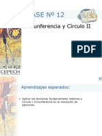 Circunferencia teoremas