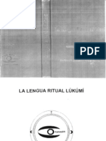 La Lengua Ritual Lukumi - Victor Betancourt