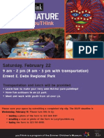 Art & Nature for Club youTHink (Packet)