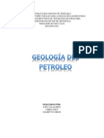 Geologia Del Petroleo Trabajo