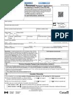 Passport Simplified Renewal
