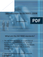 introduction to ISO 9001 presentation
