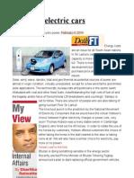 Bhutan's electric cars