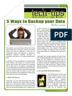 Geeks.com_Tech-Tip 01 - 5 Ways to Backup Your Data