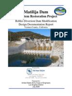 Robles Diversion Dam DDR 30percent