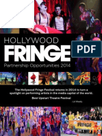 2014 HFF Sponsorship Packet