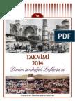 2014 Calendar - Yesterday's Nostalgic Nicosia (Turkish)