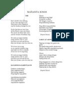 MAÑANITA SONGS