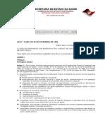 Lei 10.083-98 Codigo Sanitario Estadual SP