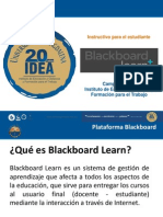 Plataforma Blackboard IDEA(Instructivo Estudiantes)
