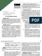2014-01-29_LEY 30162_ Ley de Acogimiento Familiar