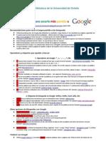 Guia rapida de Google para universitarios