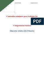 Contenidos Minimos Educacion Artistica Primaria