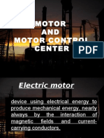 Motor and Motor Control