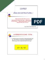 Analisis I hiperestaticidad