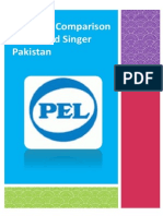 Strategic Comparison of PEL and Singer Pakistan
