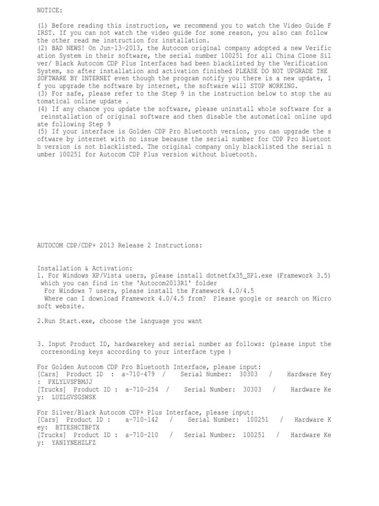 Read Me | Installation (Computer Programs) | Online And Offline