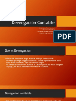 Devengación Contable