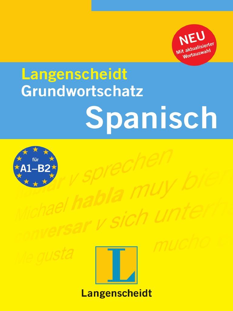 Langenscheidt Grundwortschatz Spanisch