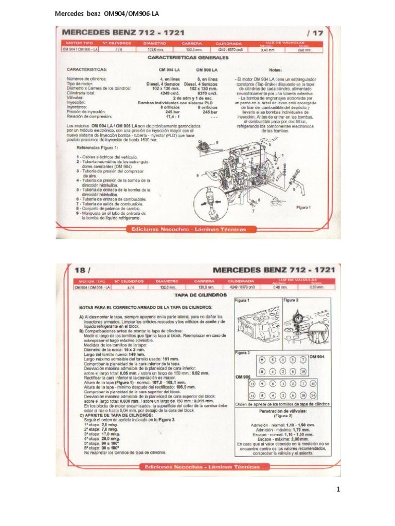 159711500 mercedes benz om904 om 906 la rh scribd com Mercedes- Benz Viano Mercedes- Benz S600