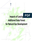 2010 PA State Forest Leasing Analysis