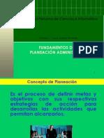 Función de Planeación Administrativa