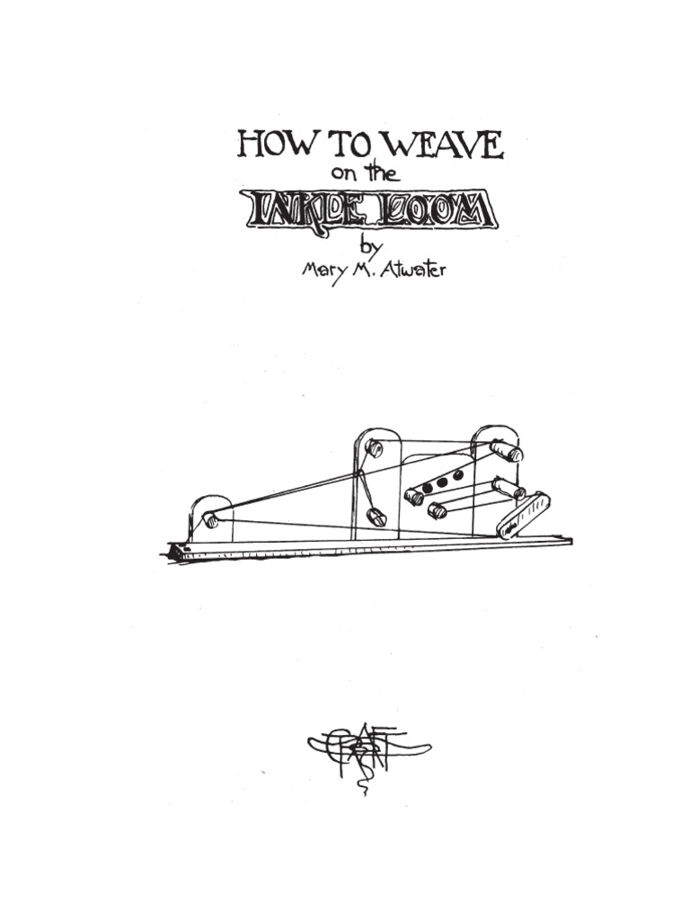 How to Weave on the Inkle Loom