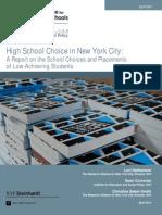 High School Choice in New York City
