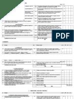 Checklist BRC6
