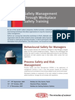 DuPont Safety Training Brochure 2007