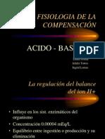 Fisiologia de La Compensacion Acidobase