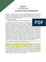 Augustin - La cité de Dieu livre 4.doc