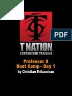Prof x Bootcamp 1