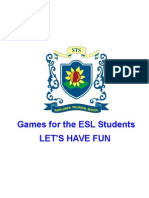 Games in the ESL Class (Over 100 Games) (1)