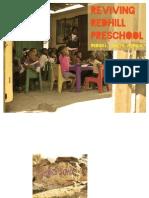 Red Hill Preschool Analysis Book