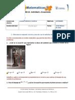MIII-U1- Actividad 1. Ecuaciones
