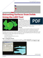 MS3D-LGO Tool and Extracting Surfaces From Solids